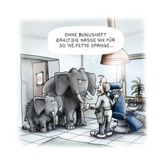 Cartoon Zahnspange