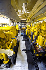 Tugboat's Engine Room