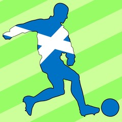 football colors of Scotland