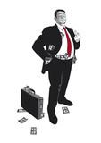 Der arrogante Banker poster