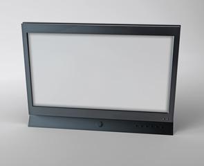 3D-Rendered Flatscreen TV
