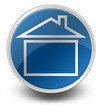 "Glossy Icon ""Home Page / House Symbol"""