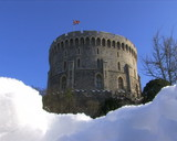 Windsor Castle snow