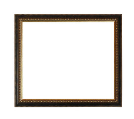 picture frame isolated on a white
