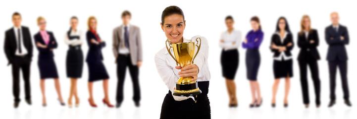 winning businessteam