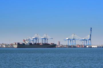 Port of Charleston, South Carolina, USA