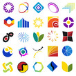 colorful symbols