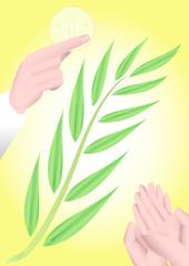 rametto ulivo comunione