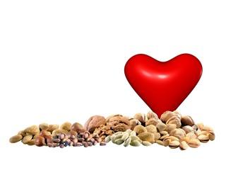 Frutta secca per il cuore