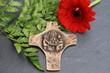 Kreuz mit Abbildung des Heiligen Abendmahls