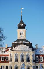 Detail Turm Gohliser Schlšsschen