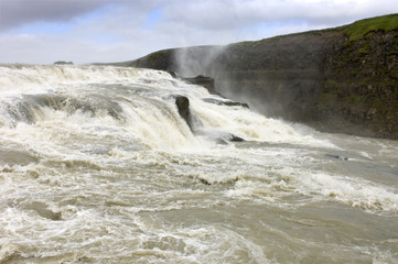 Dettifoss close up