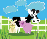 Farm Animals poster