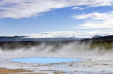 Geothermal activity poster