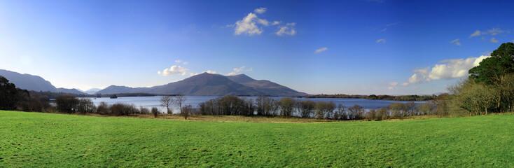 Killarney view panoramic - Ireland