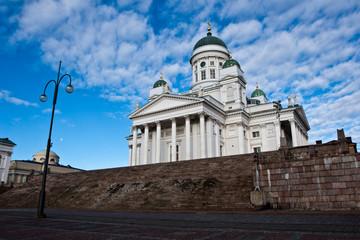 Helsinki cathedral details