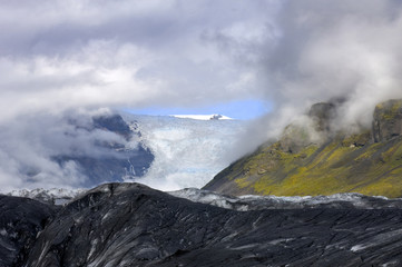 Glimpse at the Glacier