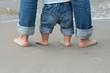 feet on sand - 20611107