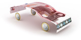 Fototapety 10-Euro-Car