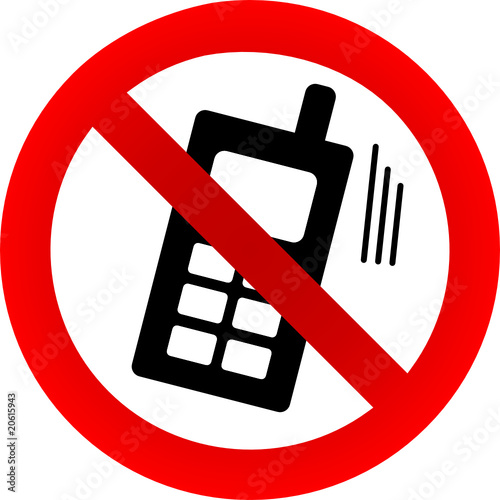 No phone allowed