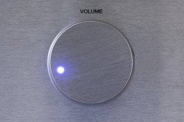 Aluminium Volume Controller with light