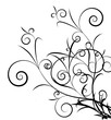 Vector - Decorative abstract floral design