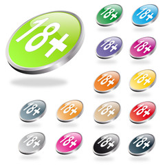 colours buttons +18