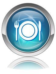 RESTAURANT Web Button (Tourism Hotel Cuisine Guide Food Reviews)