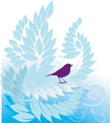 Baum und Vogel