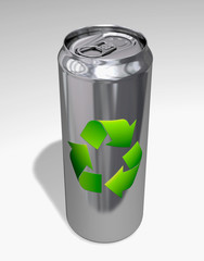 recycling alu can