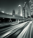 Fototapety Megacity Highway