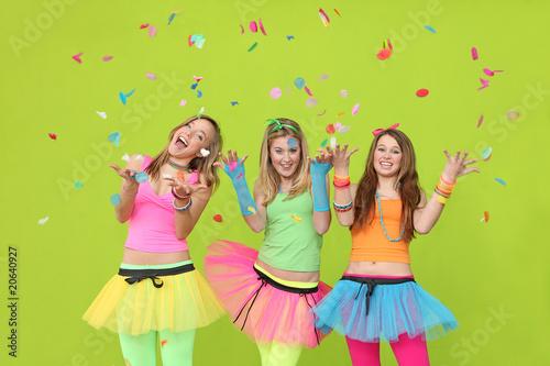 teen party girls
