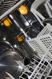 Dishwasher interior poster