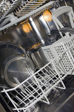 Stainless steel Dishwasher poster