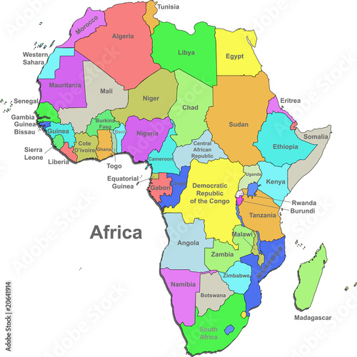Map Of Africa Only | Twitterleesclub