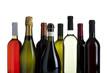 weißwein, rotwein , champagner, prosecco