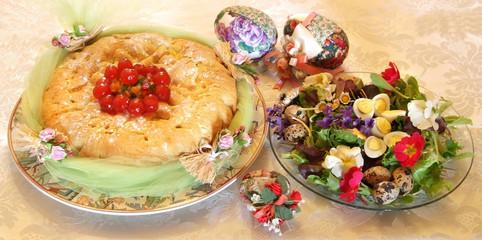Colazione di Pasqua - Piatto primavera