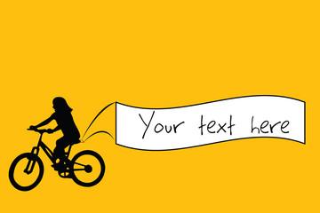 Bike banner