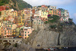 Hill town of Manarola, Italy