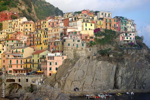 Hill town of Manarola, Italy