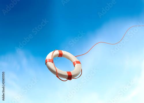 Leinwandbild Motiv Lifesaver