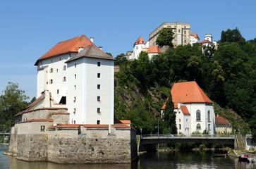 Veste Oberhaus und Niederhaus in Passau