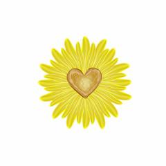 Sonnenblume in Love