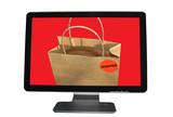 Commerce en ligne - Achat  Vente poster