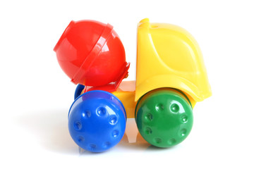 Concrete mixer toy
