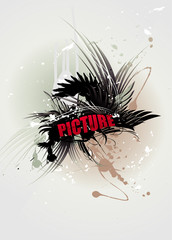 Picture word vector