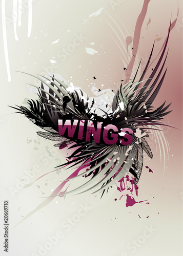 Wings word vector