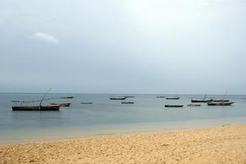 Boats, Fumba, Zanzibar, Tanzania