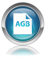 AGB Web Knopf (Allgemeine Geschäftsbedingungen Kontrakt Legal)