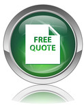 FREE QUOTE Web Button (Price Contract Customer Service Contact) poster